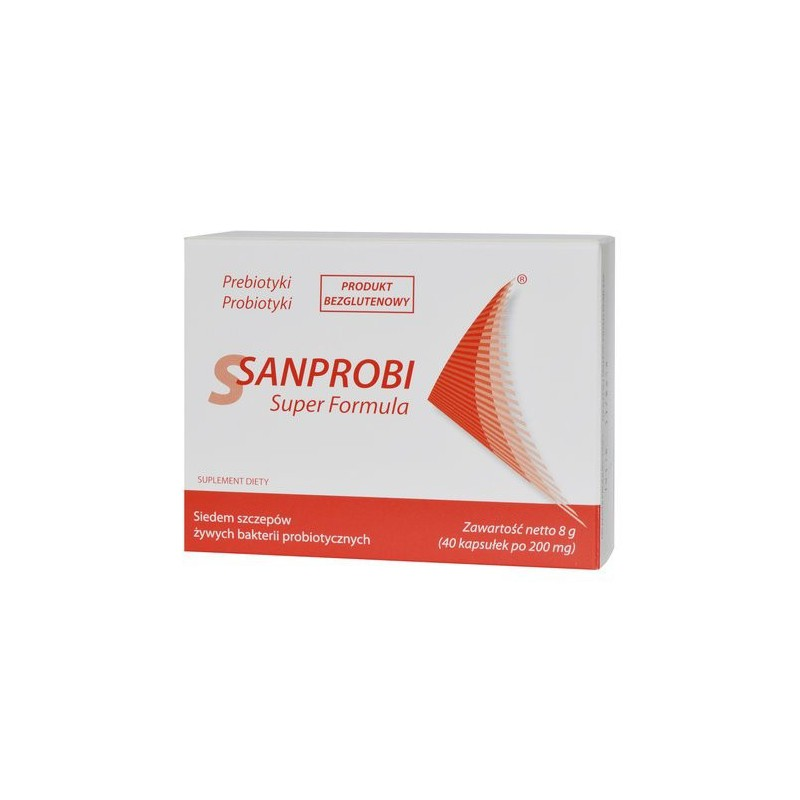 Sanprobi Super Formula 200mg 40 kaps.