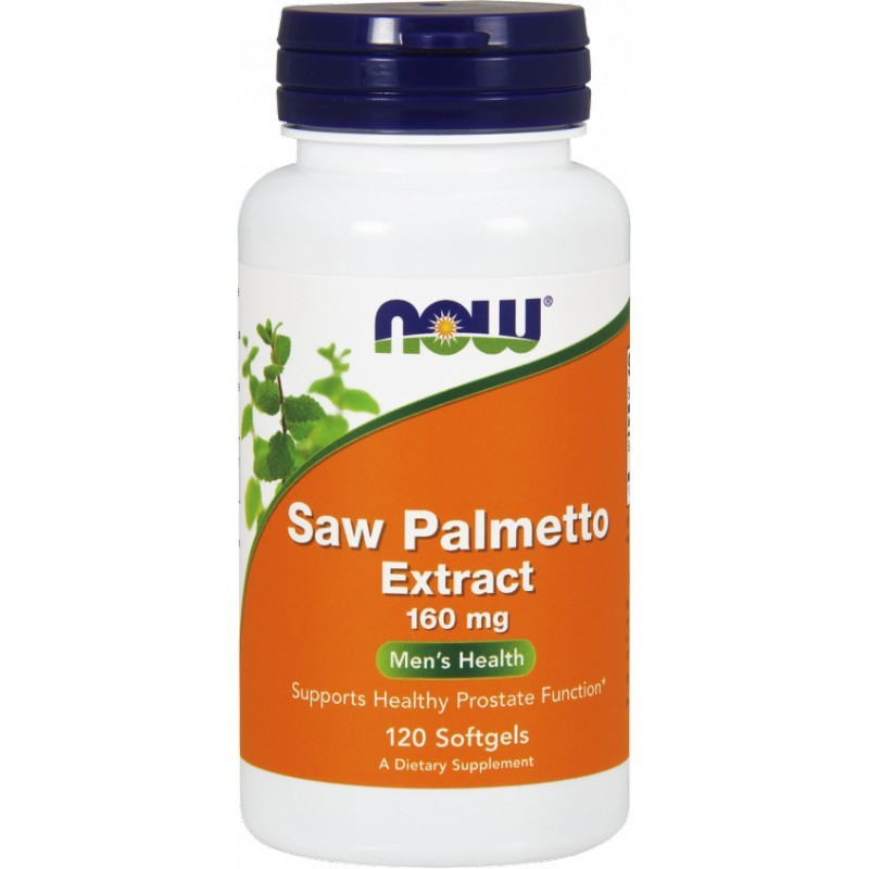 Saw Palmetto Extract 160mg 120 kaps.