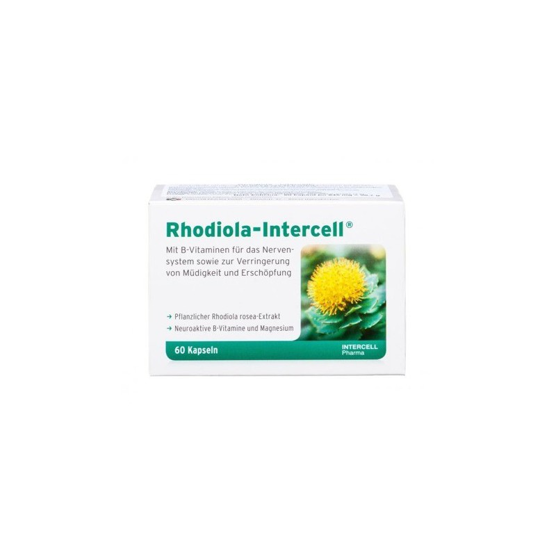 Rhodiola-Intercell 60 kaps.