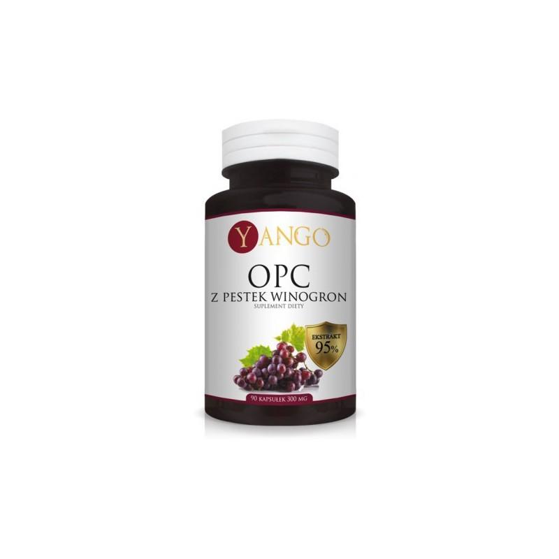 OPC 95% ekstrakt z pestek winogron - 90 kapsułek