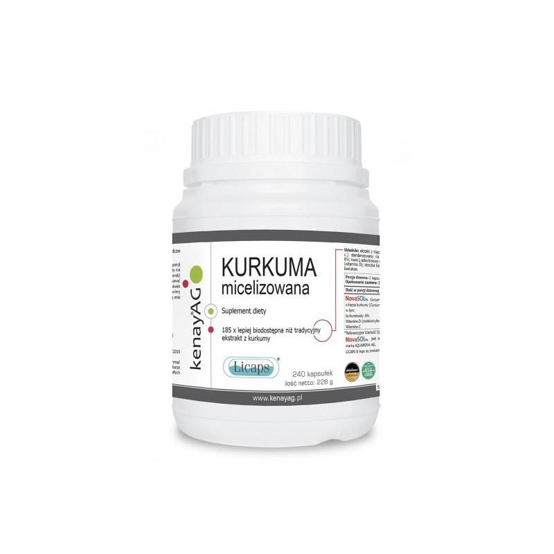 Kurkuma micelizowana Licaps 240 kaps.