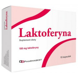 Laktoferyna 100 mg 15 kaps.