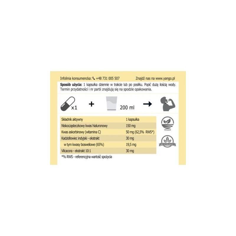 Kwas Hialuronowy na stawy - 90 kapsułek