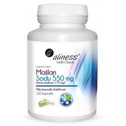 Maślan Sodu 550 mg 100 VEGE...
