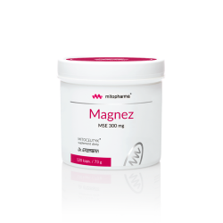 Magnez MSE 300mg 120 kaps.