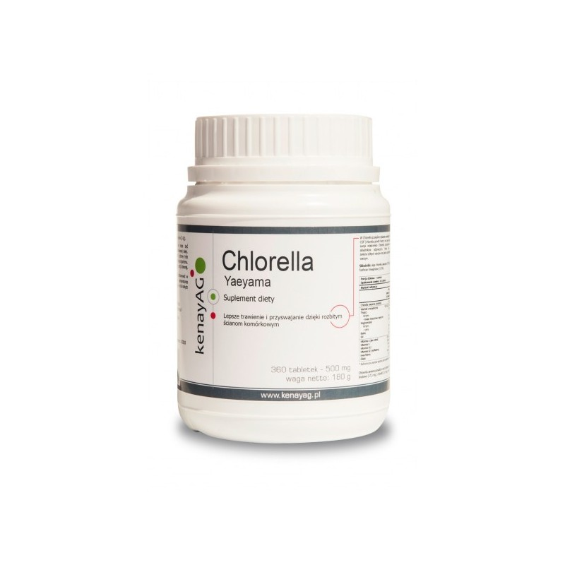 Chlorella YAEYAMA 500mg 360 tabl.